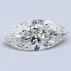 推薦鑽石 #1: 1.01 克拉欖尖形切割