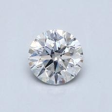 推荐宝石 3:0.51 克拉圆形切割