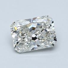 1.00-Carat Radiant Diamond Very Good I SI2