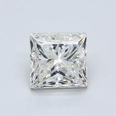 1.00-Carat Princess Diamond Good K SI1