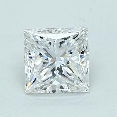 推荐宝石 3:1.08 克拉公主方型切割