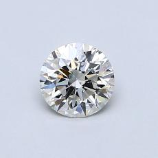 当前宝石:0.54 克拉圆形切割