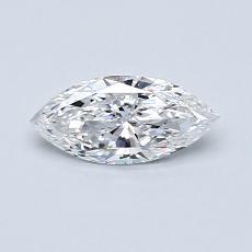 推薦鑽石 #1: 0.38 克拉欖尖形切割