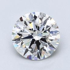 Recommended Stone #2: 1.60-Carat Round Cut