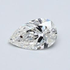 Recommended Stone #2: 0.60-Carat Pear Shaped