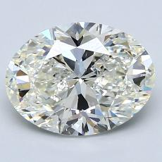 Recommended Stone #3: 2,55-Carat Oval Cut