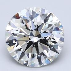 Recommended Stone #2: 3.01-Carat Round Cut