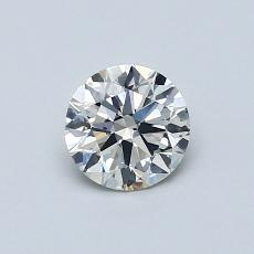 推薦鑽石 #4: 0.58  克拉圓形切割