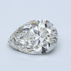 Recommended Stone #1: 0,90-Carat Pear Shaped