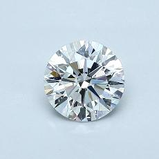 Recommended Stone #2: 0,58-Carat Round Cut