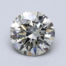 Piedra recomendada 3: Talla redonda de 1.50 quilates