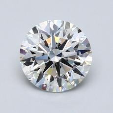Recommended Stone #1: 1.32-Carat Round Cut
