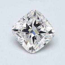 推薦鑽石 #1: 1.01 克拉墊形切割