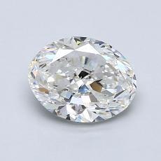推薦鑽石 #1: 1.20  克拉橢圓形切割