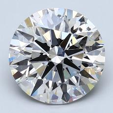 Recommended Stone #2: 3.10-Carat Round Cut