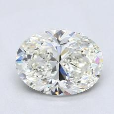 Recommended Stone #3: 1,84-Carat Oval Cut