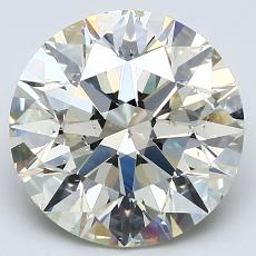 Recommended Stone #1: 3.60-Carat Round Cut