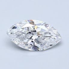 推薦鑽石 #2: 0.80 克拉欖尖形切割