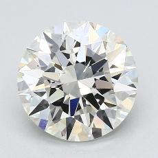 Recommended Stone #1: 3,01-Carat Round Cut