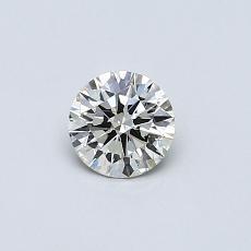 推荐宝石 4:0.33 克拉圆形切割