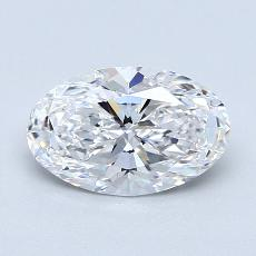 推薦鑽石 #4: 1.40  克拉橢圓形切割