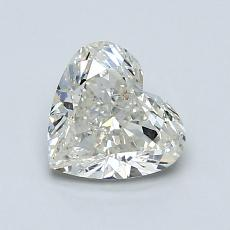 Recommended Stone #1: 1.00-Carat Heart Shaped