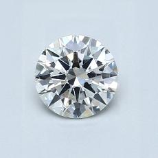 推荐宝石 2:0.65 克拉圆形切割