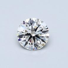 Recommended Stone #1: 0,53-Carat Round Cut