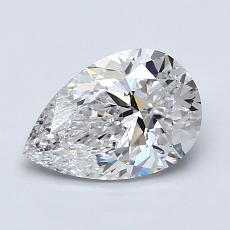 Recommended Stone #2: 1.26-Carat Pear Shaped