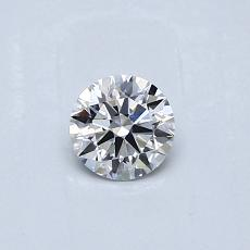 Recommended Stone #4: 0.30-Carat Round Cut