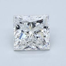 Recommended Stone #2: 1.30-Carat Princess Cut