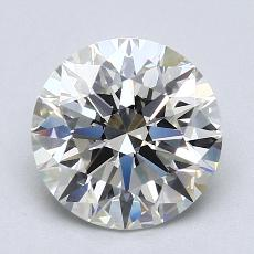 Recommended Stone #2: 2.11-Carat Round Cut