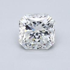 Recommended Stone #4: 1,05-Carat Radiant Cut Diamond