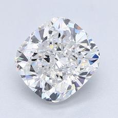 推薦鑽石 #4: 1.91 克拉墊形切割