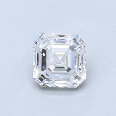 推薦鑽石 #1: 0.76  克拉上丁方形鑽石