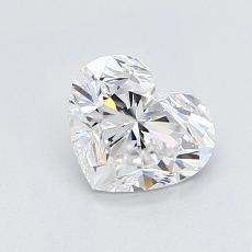推薦鑽石 #3: 1.00 克拉心形切割鑽石