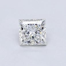 推荐宝石 4:0.60 克拉公主方型切割