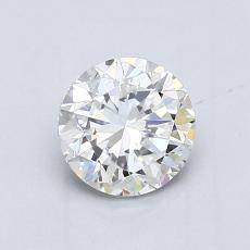 Recommended Stone #4: 0,90-Carat Round Cut Diamond