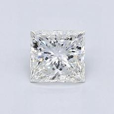 0.82-Carat Princess Diamond Very Good F VS2