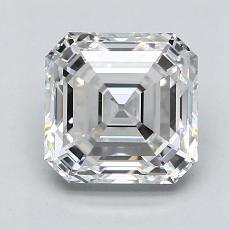 1.74-Carat Asscher Diamond Very Good G VS2