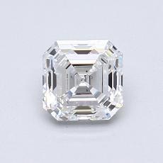 推薦鑽石 #1: 0.88  克拉上丁方形鑽石