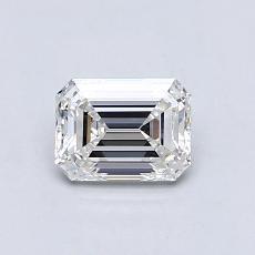 推荐宝石 4:0.73 克拉祖母绿切割钻石