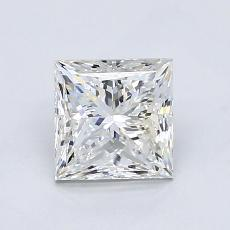 1.23-Carat Princess Diamond Very Good F SI1
