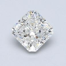 1,01-Carat Radiant Diamond Very Good G VS1