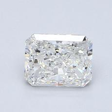 Recommended Stone #2: 1.02-Carat Radiant Cut Diamond
