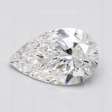 1,02-Carat Pear Diamond Very Good E VS2