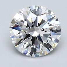 Recommended Stone #4: 2.16-Carat Round Cut Diamond