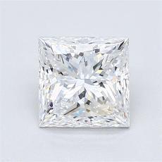 推荐宝石 2:1.31 克拉公主方形钻石