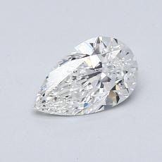 Recommended Stone #4: 0.65-Carat Pear Cut Diamond