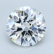 Recommended Stone #3: 4.06-Carat Round Cut Diamond